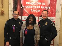 "Fontana PD on Twitter: ""@FontanaPD congratulates Mayor Acquanetta Warren,  Officer Miller and Officer Wilbert (FUSD PD) for receiving the  Unforgettable Heart Award.… https://t.co/C3SUQiUVXQ"""