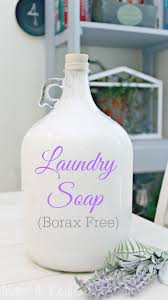homemade liquid laundry soap borax