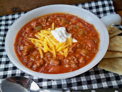 slow cooker homemade chili recipe