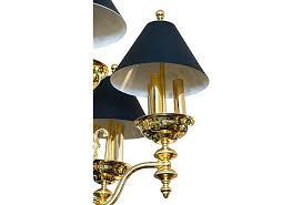 sold victorian style brass chandelier