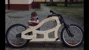 e bike d i y wooden chopper you