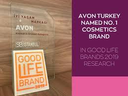 avon turkey named best cosmetics brand