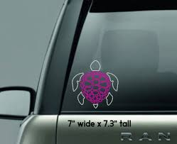 Turtle Bling Decal Turtle Car Decal Bling Decal Blingy Turtle Sticker Turtle Rhinestone Design Hawaiian Turtle Design T Shirt Time