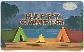 interestprint happy camper camping