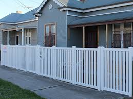 1 2m High Windsor Picket Fence With Standard Post Caps Polvin Fencing Systems