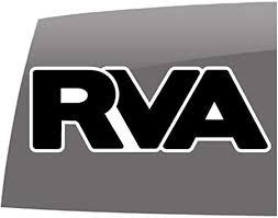 Amazon Com Rva White Outline Sticker Window Decals 5 Year Outdoor Vinyl Sticker Automotive
