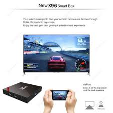 X96 Android 7.1.2 Smart TV Box S905W Quad Core WIFI Media Player ...