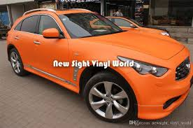 2020 Matte Orange Car Wraps Vinyl Car Decal Air Free Bubble For Car Stickers Size 1 52 30m Roll From Newsight Vinyl World 181 09 Dhgate Com
