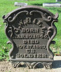 Graveyard Rabbit of Sandusky Bay: George W. Hill, Civil War Soldier