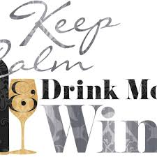 Keep Calm Drink Wine Quote Peel And Stick Wall Decals Peel And Stick Decals The Mural Store