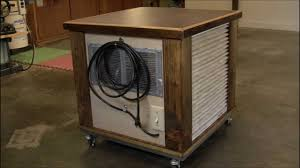 wood air filtration system