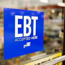 Ebt Accepted Here Door Window Decal 10 X 8