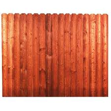 Severe Weather Actual 6 Ft X 8 Ft Wood Pressure Treated Pine Dog Ear Wood Fence Panel Lowes Com Wood Fence Fence Panels Dog Ear Fence