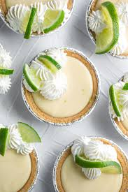 mini key lime pies with easy homemade