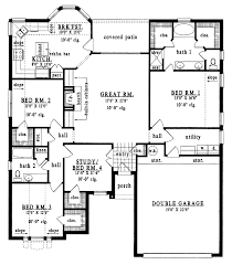 28 4 bedroom bungalow floor plans