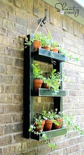 hanging wall planters outdoor outdoor