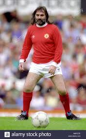 GEORGE BEST, MANCHESTER UNITED FC, 1992 Stock Photo: 262336494 - Alamy
