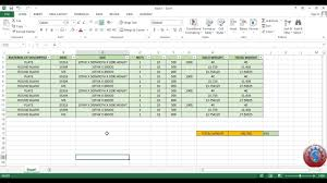 weight calculation excel sheet for