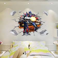 Transformer Optimus Prime Wall Sticker Wall Decals Wall Stickers Wall