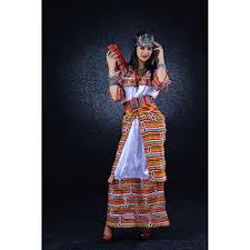 robe kabyle iwadiyen traditionnelle 2016