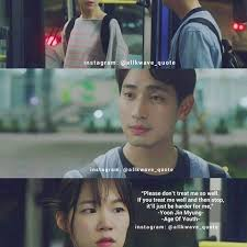 image result for age of youth kdrama quotes age of youth kdrama