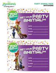 Free Zootopia Party Pack And Holiday Downloads Con Imagenes