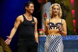 8. BENIDORM LIVE. Jake Canuso 'Mateo' and Tricia Adele-Turner 'Sophie'.  Photo Paul Coltas - Modish Male