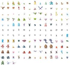 Pokemon Go Gen 2 Transparent & PNG Clipart Free Download - YWD