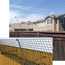 Cat Fence In Keep Your Cat S In Your Yard Cat Barrier