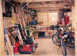 garden shed interior the best way to