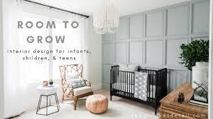 Around The Home With Gabby Stylish Kids Bedroom Nursery Ideas