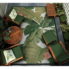 area rugs tropical green jungle forest