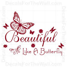 Wall Decal Blossom Like A Butterfly Sticker Quote Saying Mural Sign Decor J219 For Sale Online Ebay