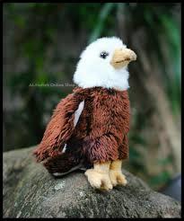 Jual Ekslusif Boneka Hewan Burung Elang Bald Eagle di lapak Rohit ...