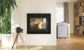 wood burning fireplace insert instyle