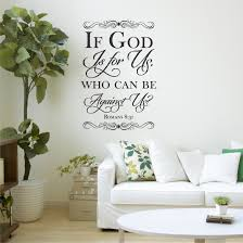 Romans 8 31 If God Is For Us Wall Decal A Great Impression