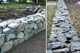 Dry Stacked Stone Walls The Field