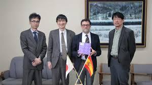 A visit from Dr. José Abel Flores Villarejo, University of Salamanca –  Tohoku University International Exchange Division