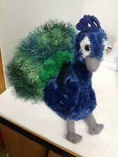 "Aurora Flopsie Perry Peacock 12"" Soft Plush 06860 for sale online | eBay"