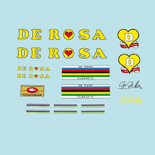 Decals Bicycle Transfers Stickers Set 5 De Rosa Decals Stickers