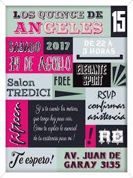 Fiesta Disfraces Quince Anos Tarjetas Originales Con Sobre 75