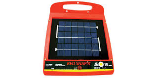 Red Snap R Electric Fence Charger Off Grid Power Boom