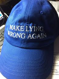 "Bethany Williams on Twitter: ""Let's GET THIS GOING!!!! Call Sue at  Embroidability and order your ""Make lying wrong again"" baseball ($15) or  bucket hat ($20) in either navy blue or black -"