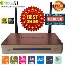 Bán Android Tivi Box Ultra HD Kiwi S1