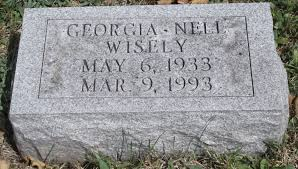 Georgia Nell Wagner Wisely (1933-1993) - Find A Grave Memorial