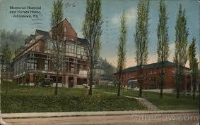 memorial hospital and nurses home