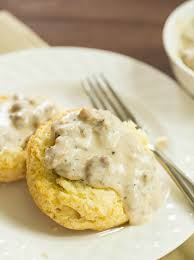 biscuits with sausage gravy recipe