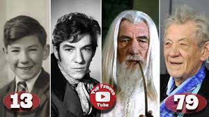 Ian McKellen | Gandalf | Transformation From 4 To 79 Years Old ...