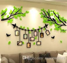 Acrylic Photo Frame Tree Wall Stickers 3d Photo Tree Wall Sticker Creative Living Room Tv Background Wall Decal Home Decoration Sticker Decor For Walls Sticker Decorations For Walls From Margueriter 17 83 Dhgate Com