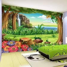 Super Deal D8d6 3d Wallpaper Children Cartoon Forest Landscape Photo Wall Murals Kids Bedroom Backdrop Wall Home Decor Papel De Parede Infantil Cicig Co